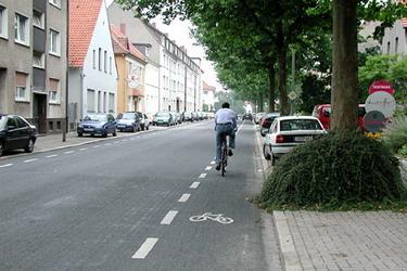 Fahrradstreifen